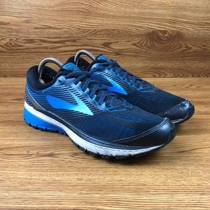 Brooks Ghost 10 Blue Trail Running Shoes